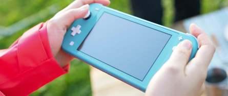 Nintendo Switch Lite Vorderseite