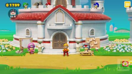 Super Mario Maker 2 Peach Schloss