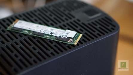 Intel 660P SSD Aufkleber