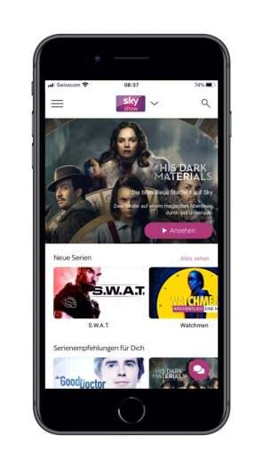 Viele Inhalte, auch von HBO, vefügbar.