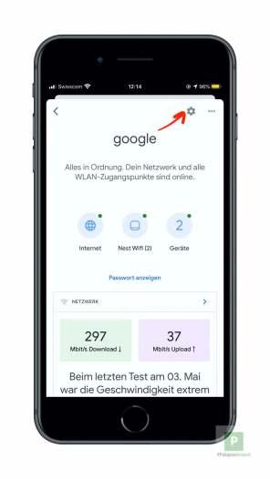 Google Nest WiFi zuruecksetzten - 2