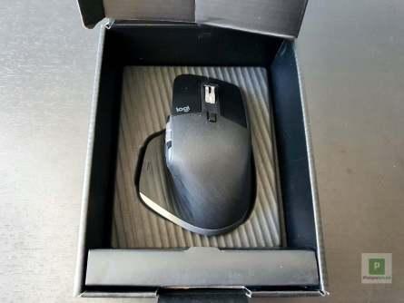 Die Maus in der Verpackung
