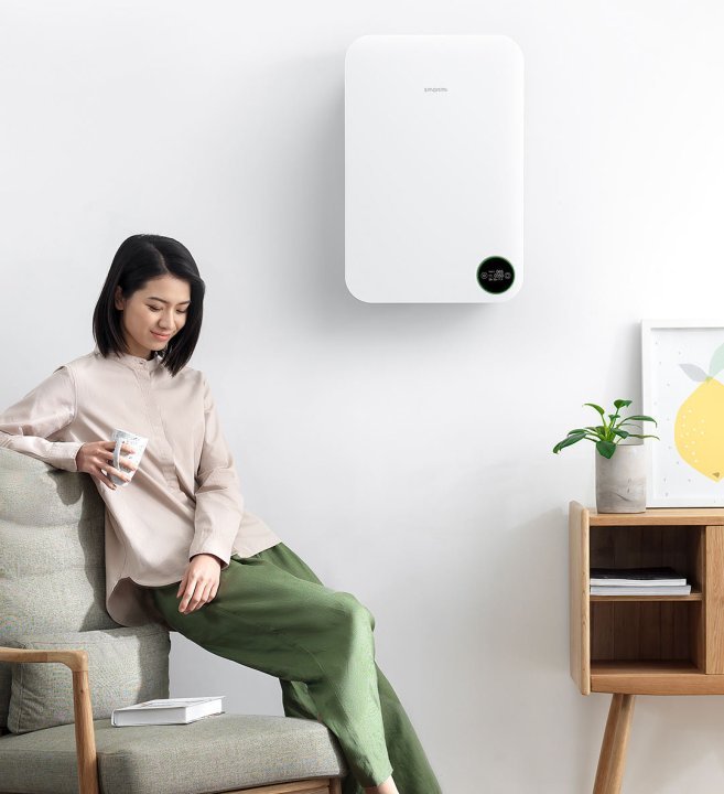Xiaomi Mijia Smartmi Fresh Air System Wall Mounted