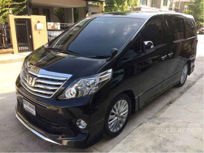 Rental Alphard Sampang