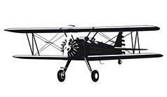 samolot hangar
