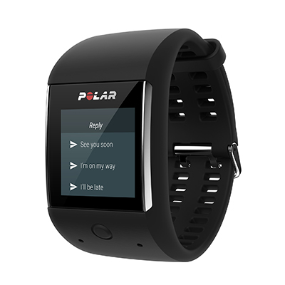 Reply to messages with Polar M600