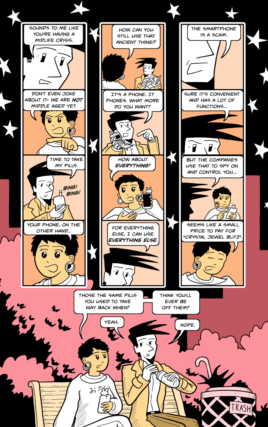 How to be Human, Day 1, Page 21