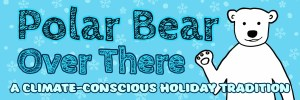 Polar Bear Over There Header Banner