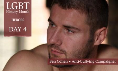 Ben Cohen, LGBT History Month Heroes 2012