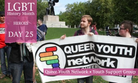 Queer Youth Network, LGBT History Month Heroes 2012, Polari Magazine