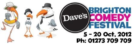 dave's brighton comedy festival 2012