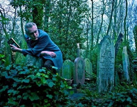 Jonathan Kemp Graveyard by Justin David Night Work