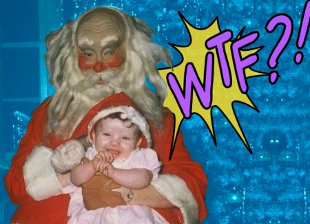 WTF?! Friday, Creepy Santa