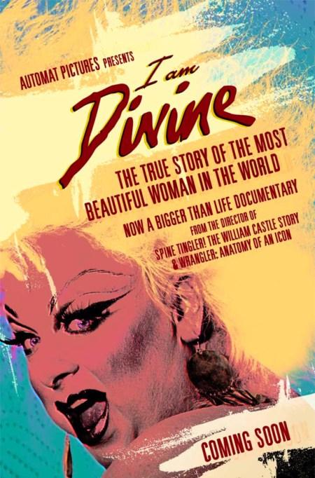 I Am Divine, film poster, Jeffrey Schwarz