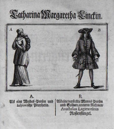 Catharina Margaretha Linck, Transgender
