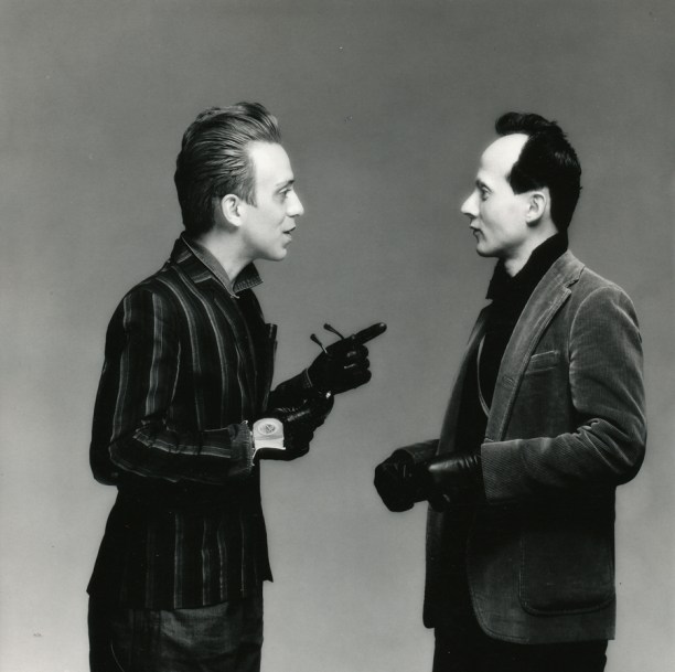 Joey Arias and Klaus Nomi