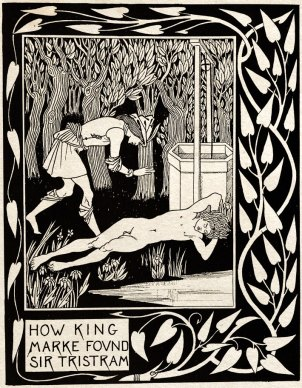 King-Marke-Sir-Tristram-Aubrey-Beardsley