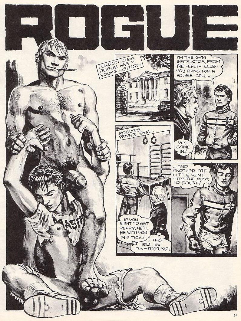 Rogue gay art