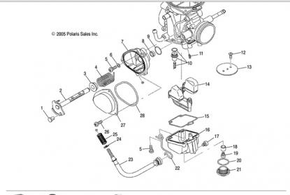 Looking for Carb idle screw part # 3131295 and Clip