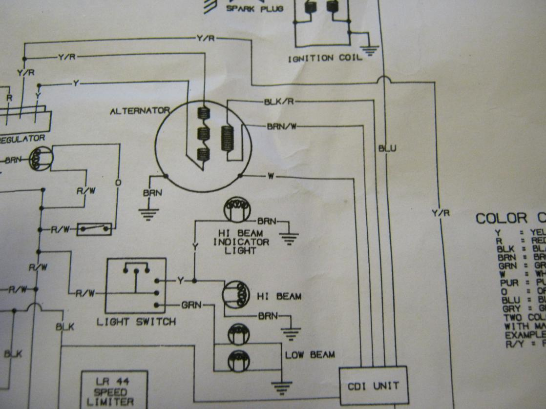 hight resolution of 1996 polaris sportsman 500 stator wiring diagram