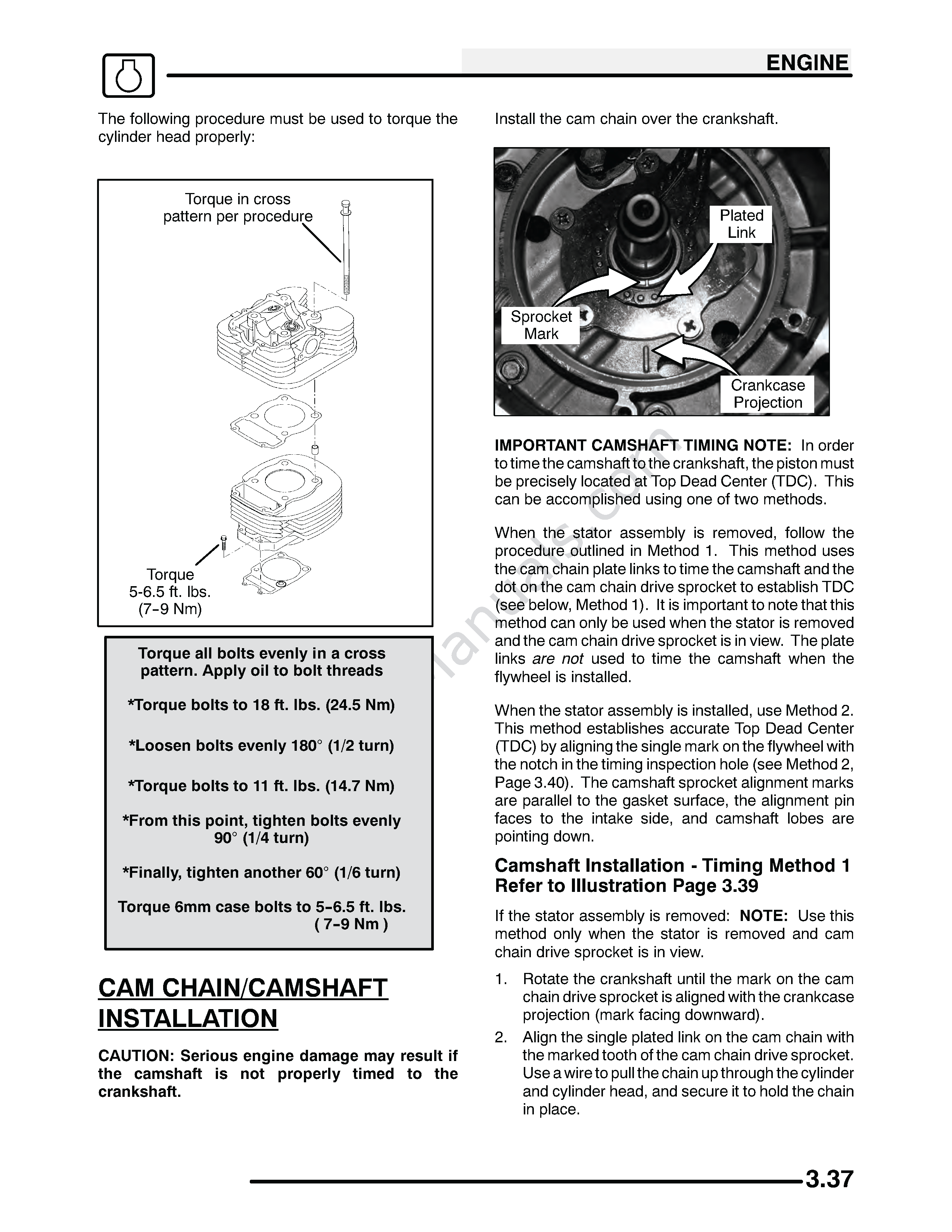 2005 Magnum 330_Need Cylinder Head Bolt Torque Specs