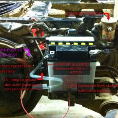 110cc Chinese Atv Wiring Diagram Large Intestine Anatomy Labeled Bringing 1998 Xplorer 400 Back From The Dead!!! - Page 3 Polaris Forum