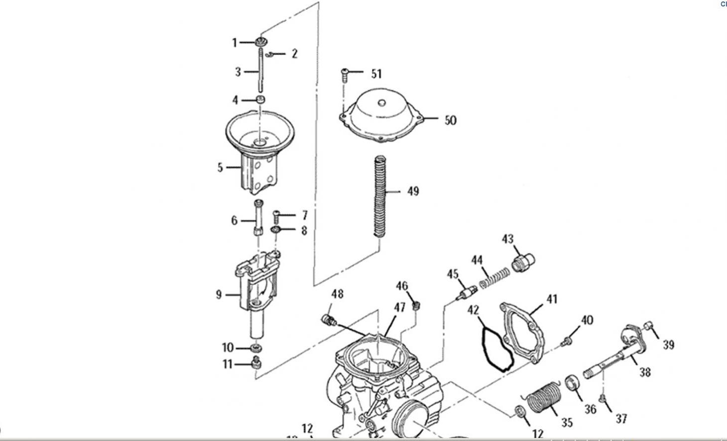 2000 Polaris Sportsman 500 Carburetor Diagram, 2000, Free