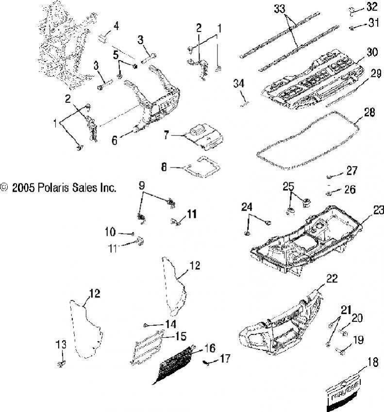 2004 Polaris Sportsman Parts Diagram. Diagram. Wiring