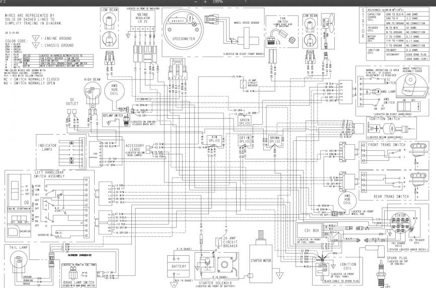 2000 Polaris Xc 500 Wiring Diagram : 34 Wiring Diagram