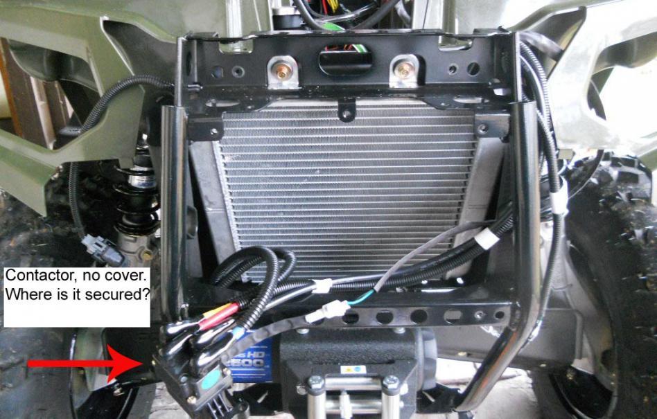 yamaha atv starter solenoid wiring diagram kidde smoke alarm winch installation 2013 sportsman 400 - polaris forum