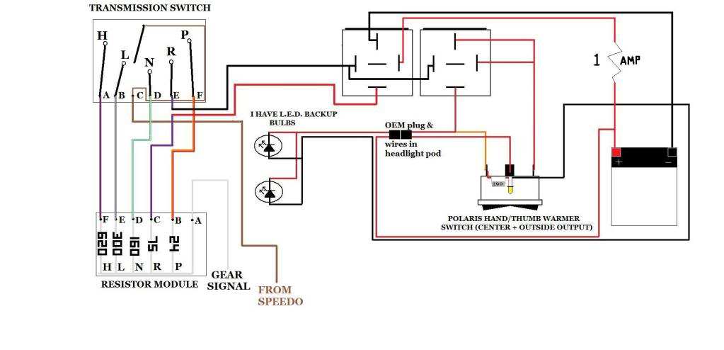 2000 Polaris Sportsman Wiring Schematic