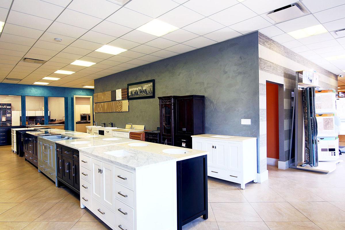 bathroom and kitchen showroom los angeles | polaris home design