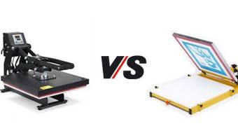 Heat Press VS Screen Printing