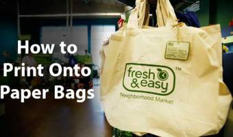 How to Print Onto Paper Bags