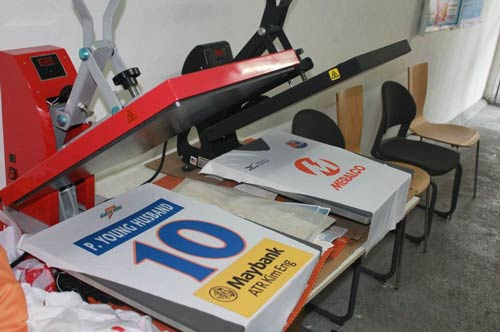 heat press printing