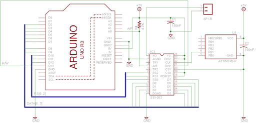 SSI 263 text to speech in Python via Nanpy on the Arduino