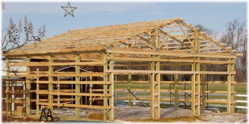 Pole Barns Vs Stick BuiltConventional Framing Or Pole Barn