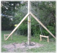 Setting Pole Barn Posts In Concrete