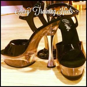 training heels