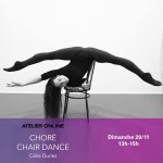 29/11 : CHAIR DANCE AVEC CÉLIA DURIEZ