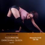 21/02 : Atelier online : Acro floorwork spécial dancehall queen avec Issa !