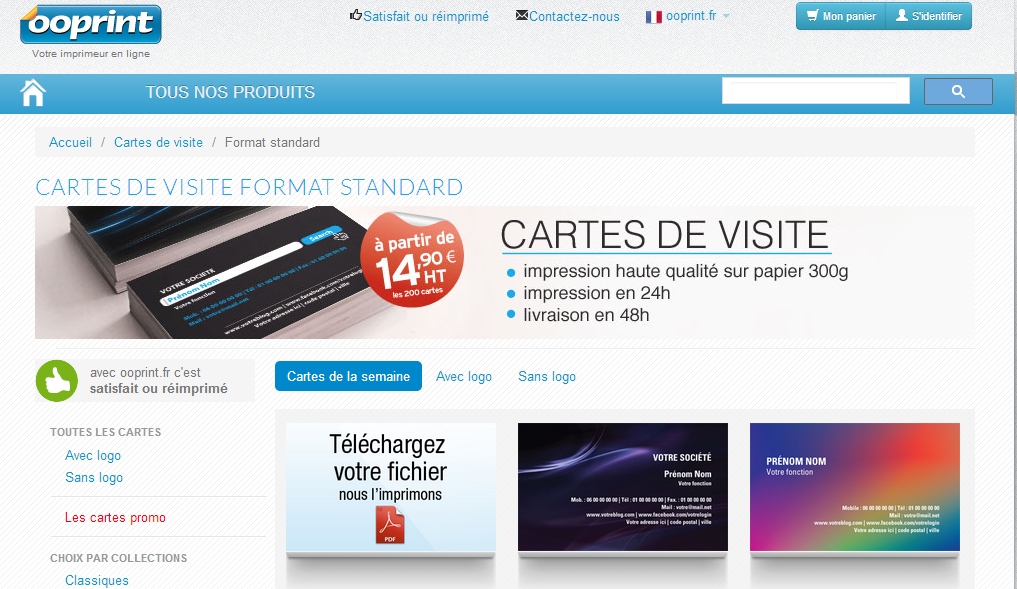 Realiser Votre Carte De Visite Pro Pole Documentation