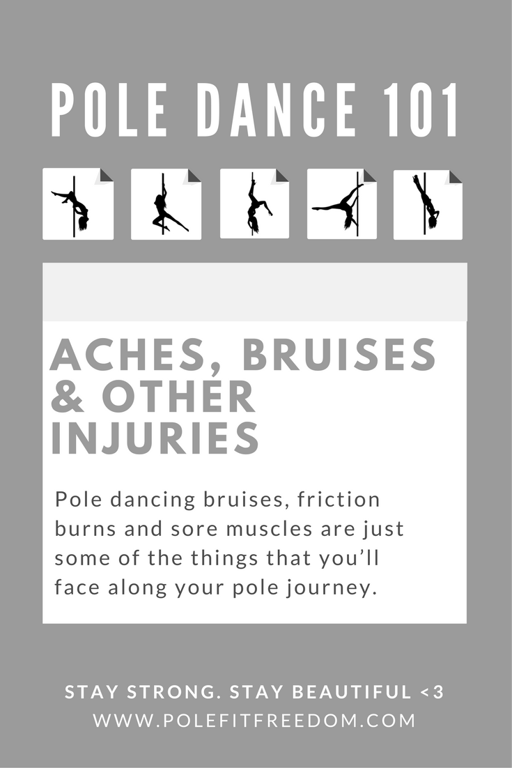 Pole Dance 101: Aches, Friction Burns and Bruises