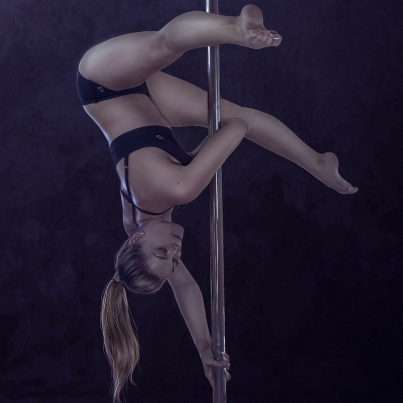 Pole Dancer Elbow Grip