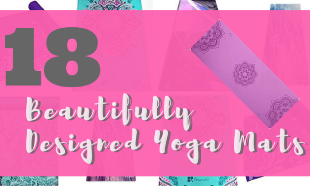 18 Colorfully Printed Yoga Mats With Beautiful Designs
