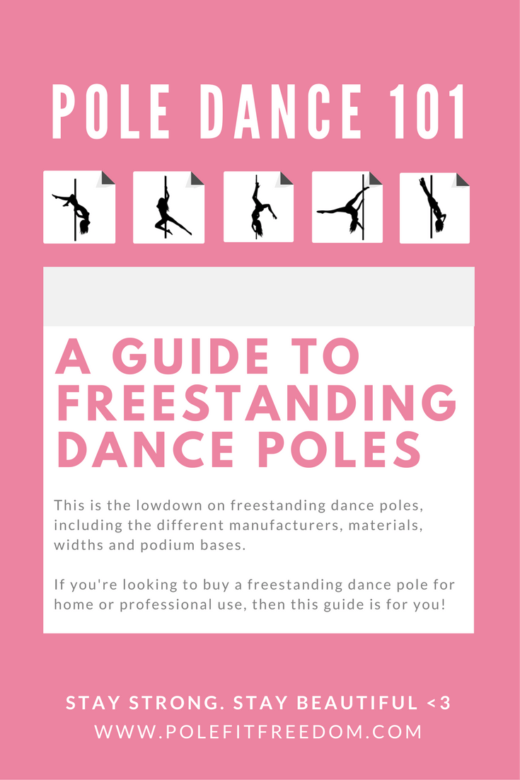 A guide to freestanding dance poles - all you need to know about X Pole Stage, X-Stage Lite, R Poles and Platinum Stages