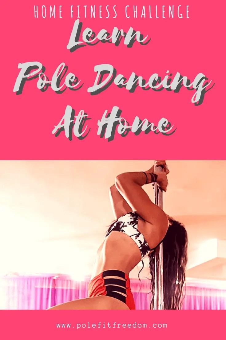 Learn Pole Dancing At Home Pole Dancing Inspiration #PoleDancing #PoleFitness #Fitness