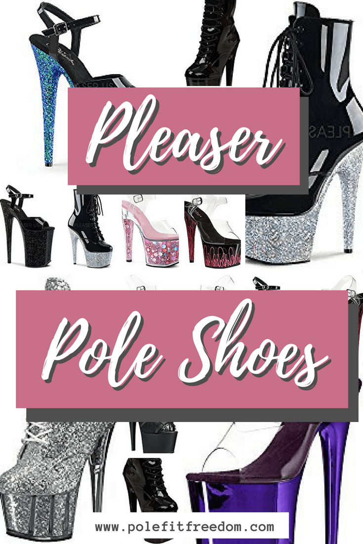 Pleaser Pole Shoes for Pole Dancing