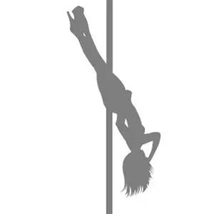 Pole Dance Silhouette
