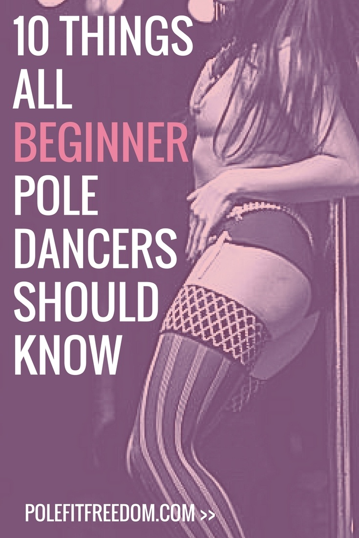 10 Things all beginner pole dancers should know